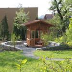 Ein von ABO bereits fertiggestellter Pavillon