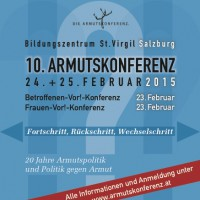 """10. Österreichische Armutskonferenz: """"Fortschritt-Rückschritt-Wechselschritt"""""""
