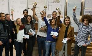 VertreterInnen der Siegerprojekte