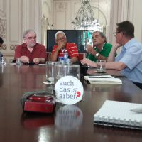Harte Nüsse und politische Bildung auf Kubanisch: #auchdasistarbeit hebt ab!