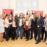 Gütesiegelverleihung 2017: Neun Soziale Unternehmen vor den Vorhang