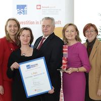 Der ESF Innovationsaward 2012 geht an…