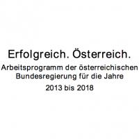 Arbeitsprogramm der neuen Bundesregierung: 2013 – 2018
