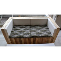 Moderne Palettenmöbel vom bfi-Beschäftigungsprojekt