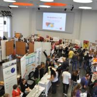 Großer Andrang auf der DSE-Jobmesse