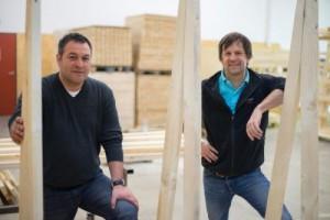 Robert Baljak (Geschäftsführung Bereich Bildung) und Stefan Koch (Geschäftsführung Bereich Arbeit). VN/KH