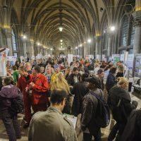 Mehr als 2.000 BesucherInnen waren bei der heurigen Jobmesse des DSE-Wien