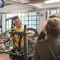 Das Fahrradzentrum B7 logiert ab nun in der Linzer Tabakfabrik