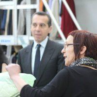 Bundeskanzler Kern zu Besuch beim Tiroler Verein WAMS