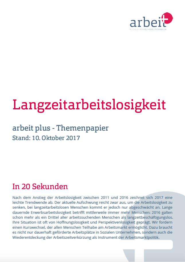 Themenpapiere zur Arbeitsmarktpolitik