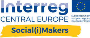 Interreg Central Europa Social(i)Makers Logo