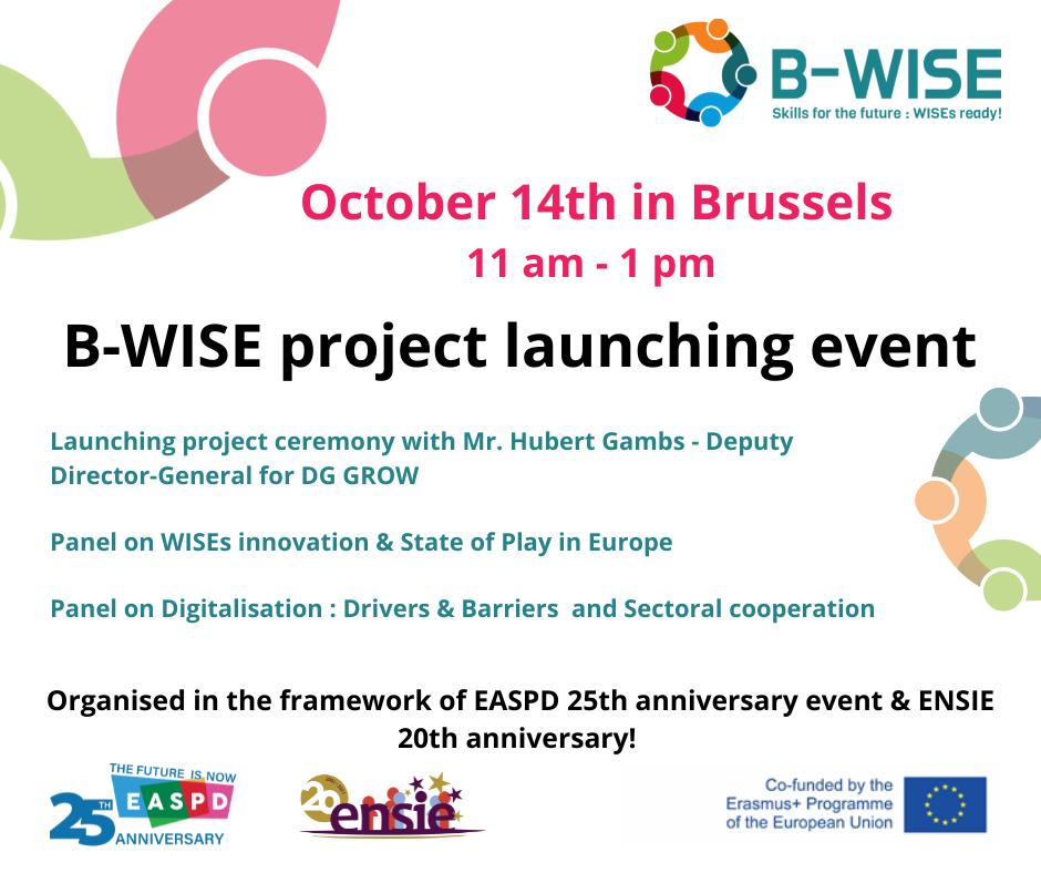 Einladungskarte B-WISE 14.10.